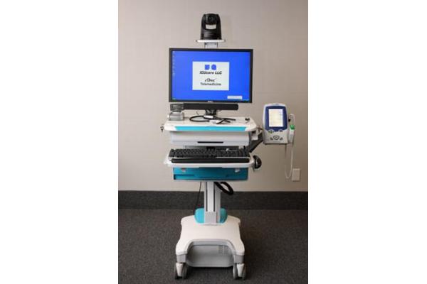 eTelehealth healthcare cart